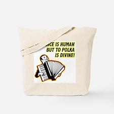 Divine Polka Tote Bag