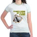 Divine Polka Jr. Ringer T-Shirt