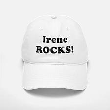 Irene Rocks! Baseball Baseball Cap