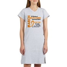 MS Month For Me Women's Nightshirt