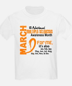 MS Month For Me T-Shirt
