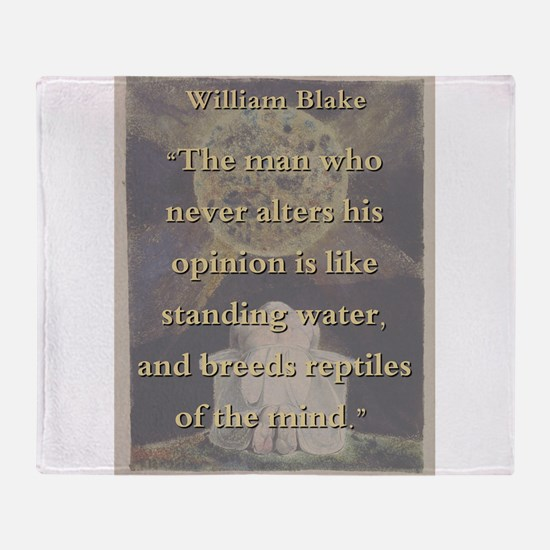 The Man Who Never Alters His Opinion - W Blake Thr