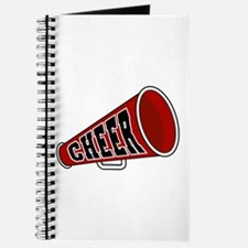 Red Cheer Megaphone Journal
