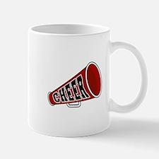 Red Cheer Megaphone Mug