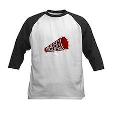Red Cheer Megaphone Tee