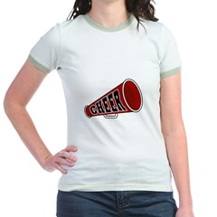 Red Cheer Megaphone T