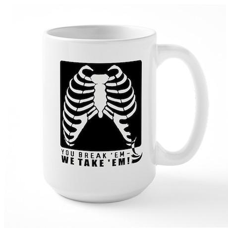 Radiology BreakTake Large Mug