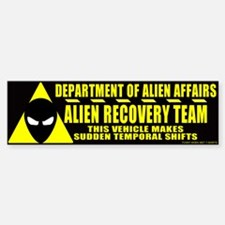 Department of Alien Affairs Bumper Bumper Bumper Sticker