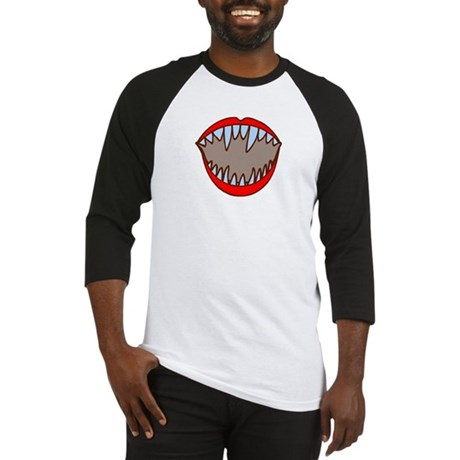 Vampire Teeth Baseball Jersey