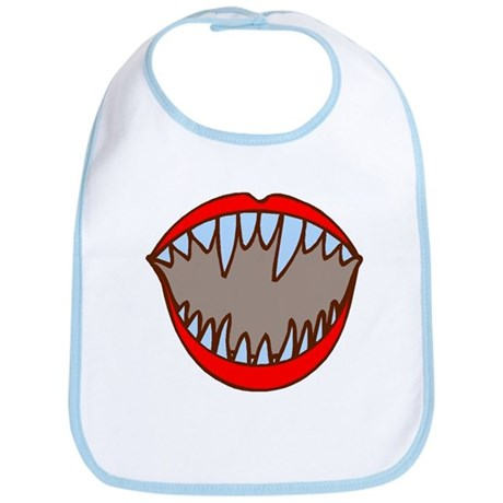 Vampire Teeth Bib