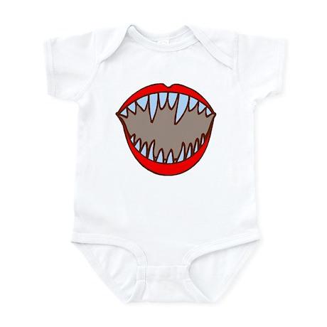 Vampire Teeth Infant Bodysuit