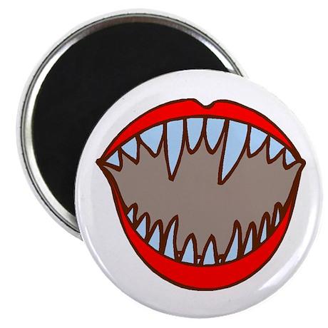"""Vampire Teeth 2.25"""" Magnet (100 pack)"""