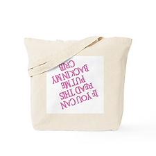 PUT ME BACK IN MY CRIB Tote Bag