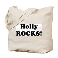 Holly Rocks! Tote Bag