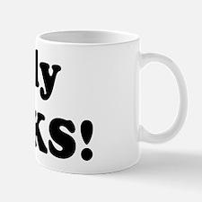 Holly Rocks! Mug