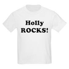 Holly Rocks! Kids T-Shirt