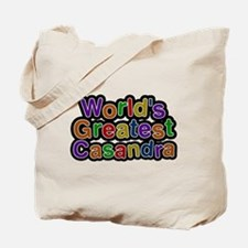 Worlds Greatest Casandra Tote Bag