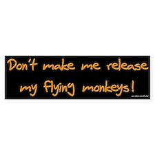 Flying Monkeys Bumper Bumper Sticker