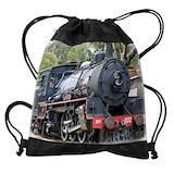 Steam train Drawstring Bag