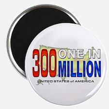 """300 Million 2.25"""" Magnet (100 pack)"""