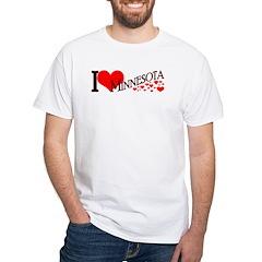 I <3 Minn RMC White T-Shirt