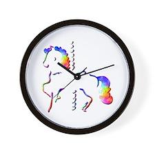 Carousel Rides Wall Clock