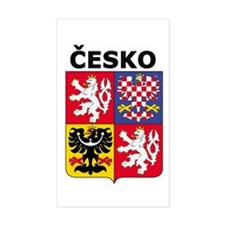 Česko Rectangle Decal