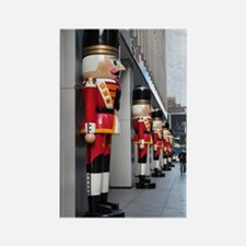 Nutcrackers in NYC ~ Rectangle Magnet