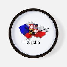 Česko Wall Clock