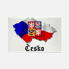 Česko Rectangle Magnet