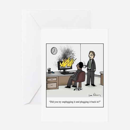Cute Office humor Greeting Card