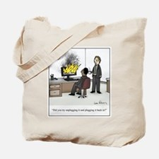 Funny Office Tote Bag