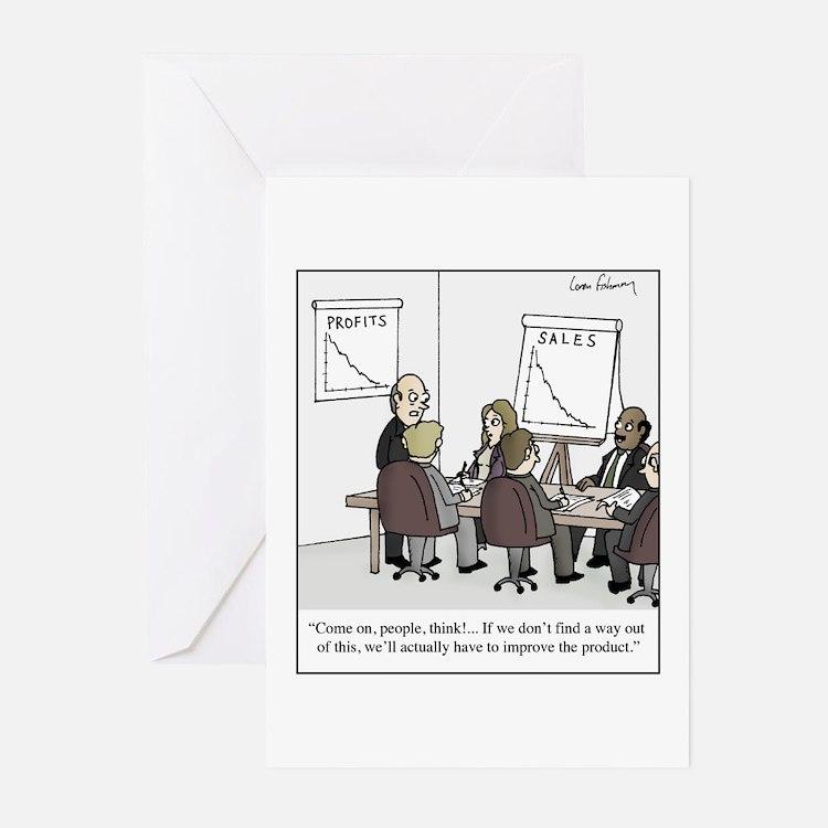 Cute Marketing Greeting Cards (Pk of 20)