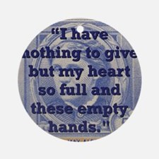 I Have Nothing To Give But My Heart - Alcott Round