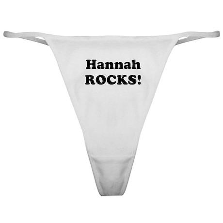 Hannah Rocks! Classic Thong