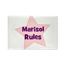 Marisol Rules Rectangle Magnet