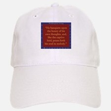 He Banquets Upon The Honey Baseball Baseball Baseball Cap