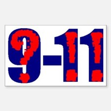 QUESTION 9-11 Rectangle Decal