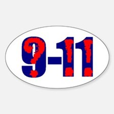 QUESTION 9-11 Oval Decal