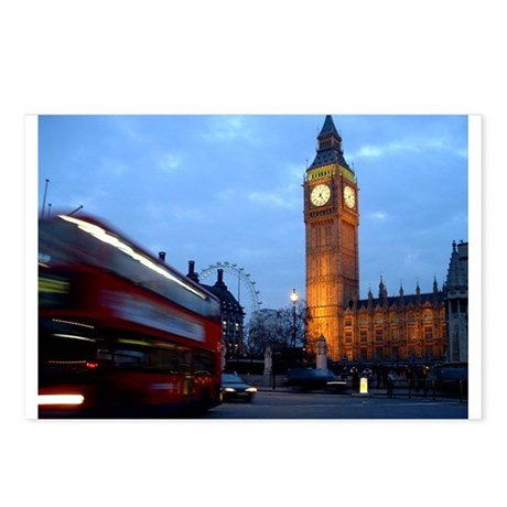 Classic London Postcards (Package of 8)