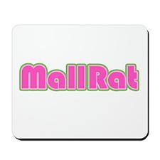 Mall Rat (Pink) Mousepad
