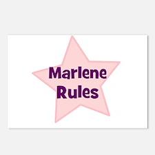Marlene Rules Postcards (Package of 8)