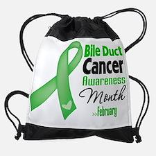 Bile Duct Cancer Awareness Month.pn Drawstring Bag