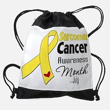 Sarcoma Cancer Awareness Month.png Drawstring Bag