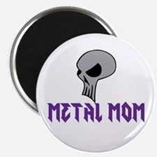 Metal Mom Fridge Magnet