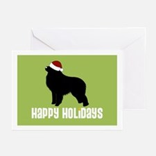 "G Pyrenees ""Santa Hat"" Greeting Cards (Package of"