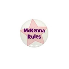 Mckenna Rules Mini Button (10 pack)
