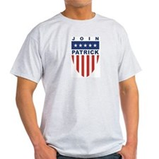 Join Deval Patrick Ash Grey T-Shirt