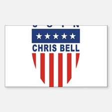 Join Chris Bell Rectangle Decal