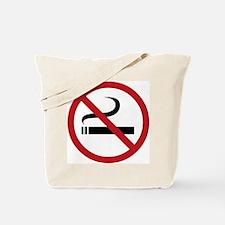 No Smoking Sign Tote Bag